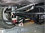 assembled rear axle