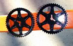 Painted cam sprockets