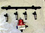 Fuel Rail, Supra Injectors Regulator