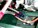 Hard fuel line to dash 6 braided