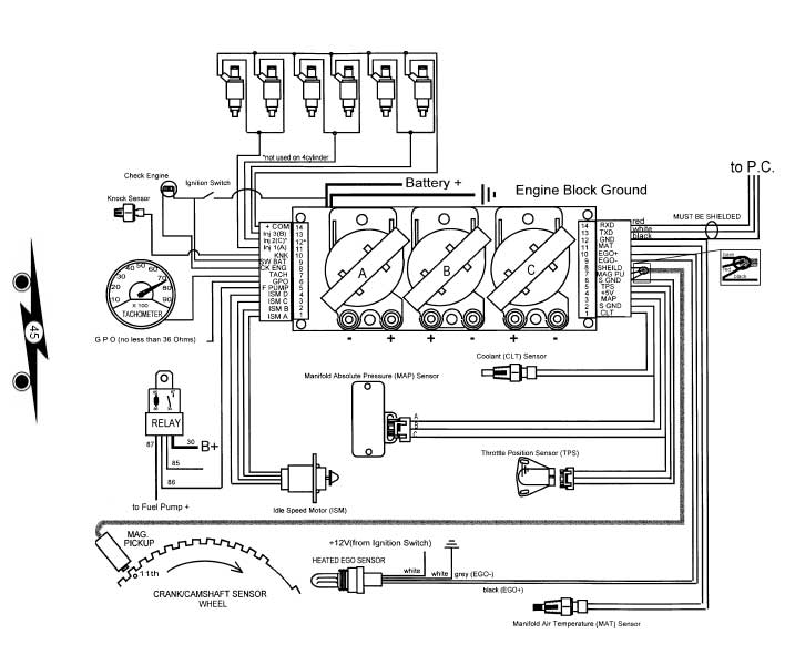 tecwirin  Wire Alternator Wiring Diagram Subaru on
